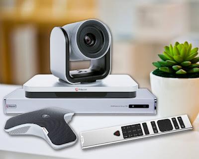 Thích hợp phòng họp nhỏ, giải pháp hội nghị truyền hình Polycom Group 310 là thiết bị tốt hơn