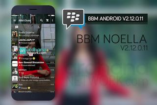 BBM MOD Noella Sisterina V2.12.0.11 Apk Terbaru