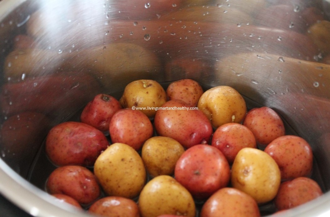 Instant Pot Perfect Boiled Baby Potatoes