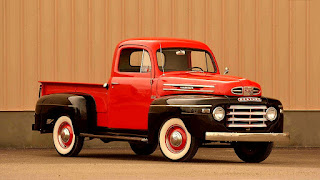 1950 Mercury M-47 Pickup Front Right