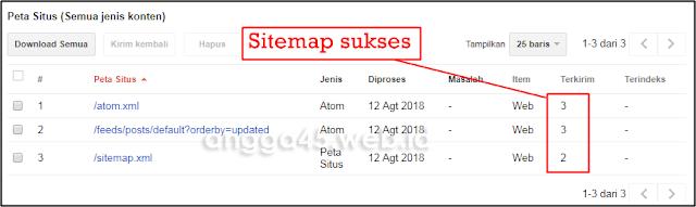 Cara Kirim Sitemap Blogspot ke Google Webmaster Tools