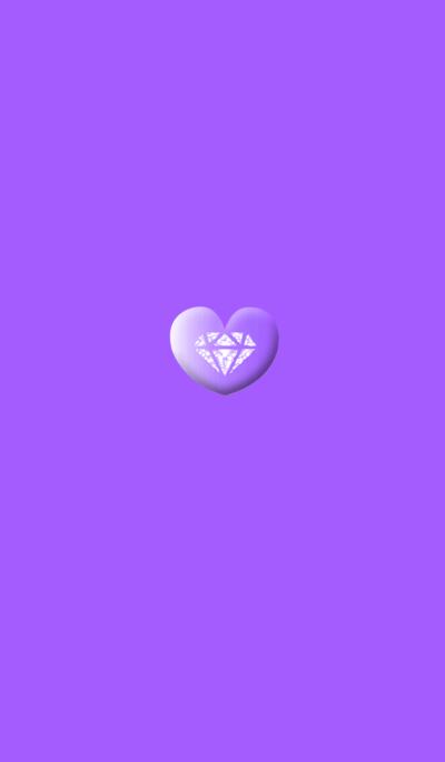 Heart Purple Button
