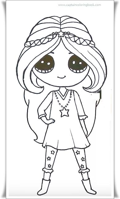 Disneys Star Darlings Sage Coloring Page