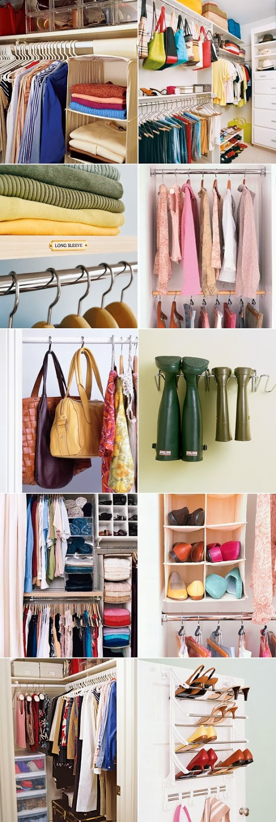 ideas to organize your closet - 31 Tips And Ideas To organize Your Closet DIY Craft Projects