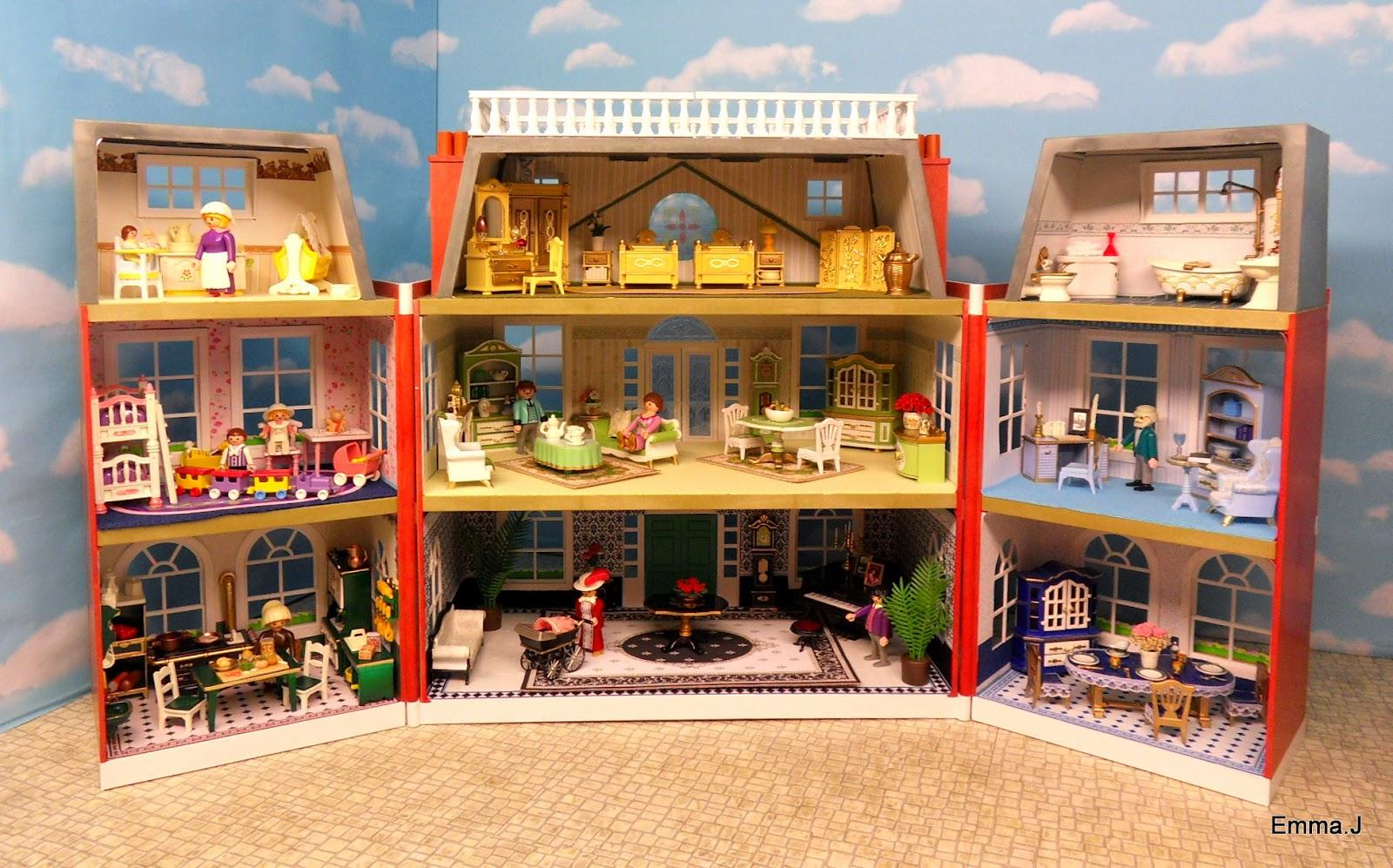 Medieval Bedroom Red Square Mansion For Sale Emma J S Playmobil