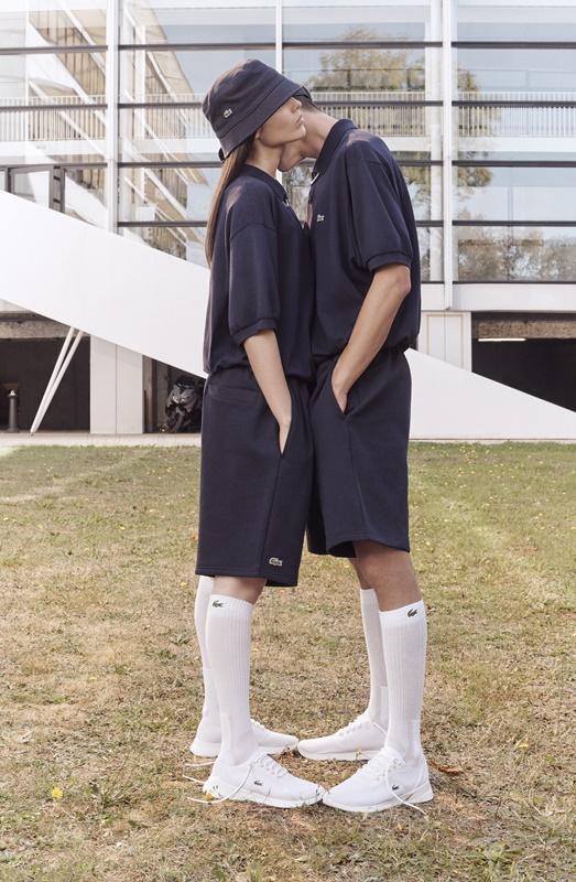 7ffb1a179 Lacoste revela coleção sem gênero e com perfume vintage para sua  Primavera/Verão 2019