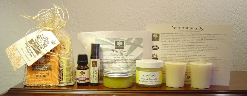 The Remedy Rush Subscription Fall 2015 Box products.jpeg
