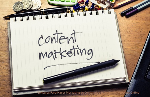 Hacer Marketing de Contenidos