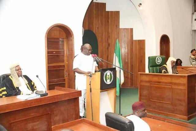 Ikpeazu presents Budget Appropriation bill