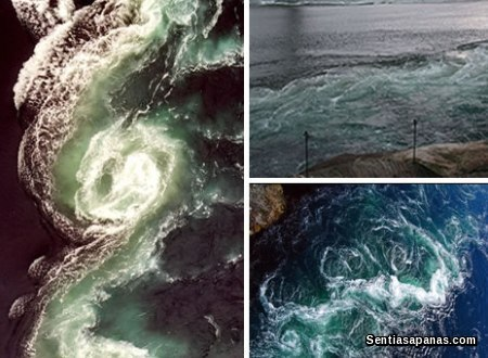 Maelstrom Ocean in Norway