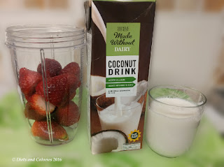 marks and spencer coconut milk smoothie making