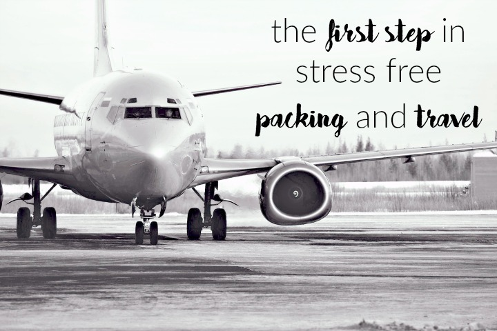 The First Step to Becoming an Efficient Packer and Traveler   Line Up and Wait