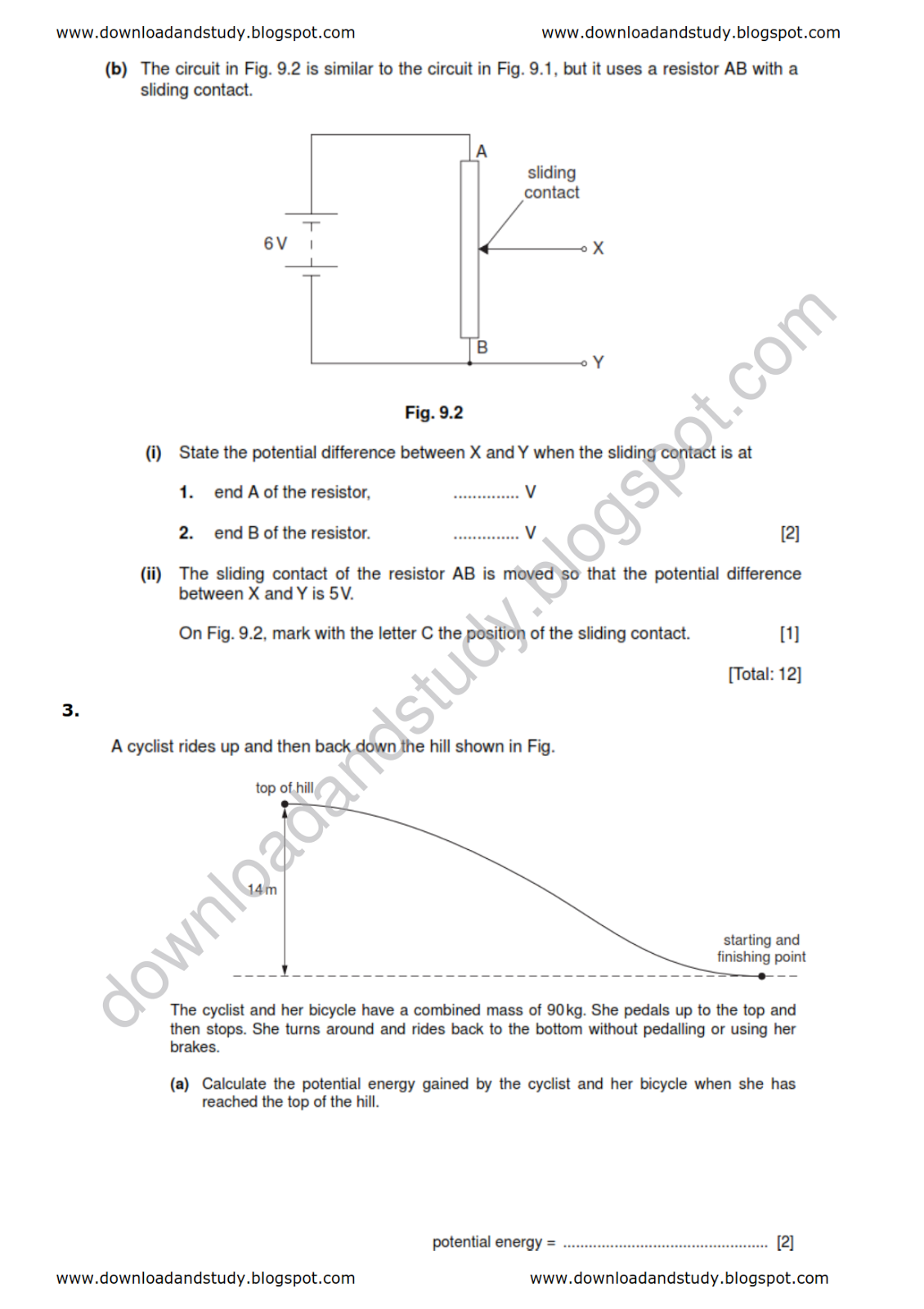 Paper Airplane Physics Worksheet