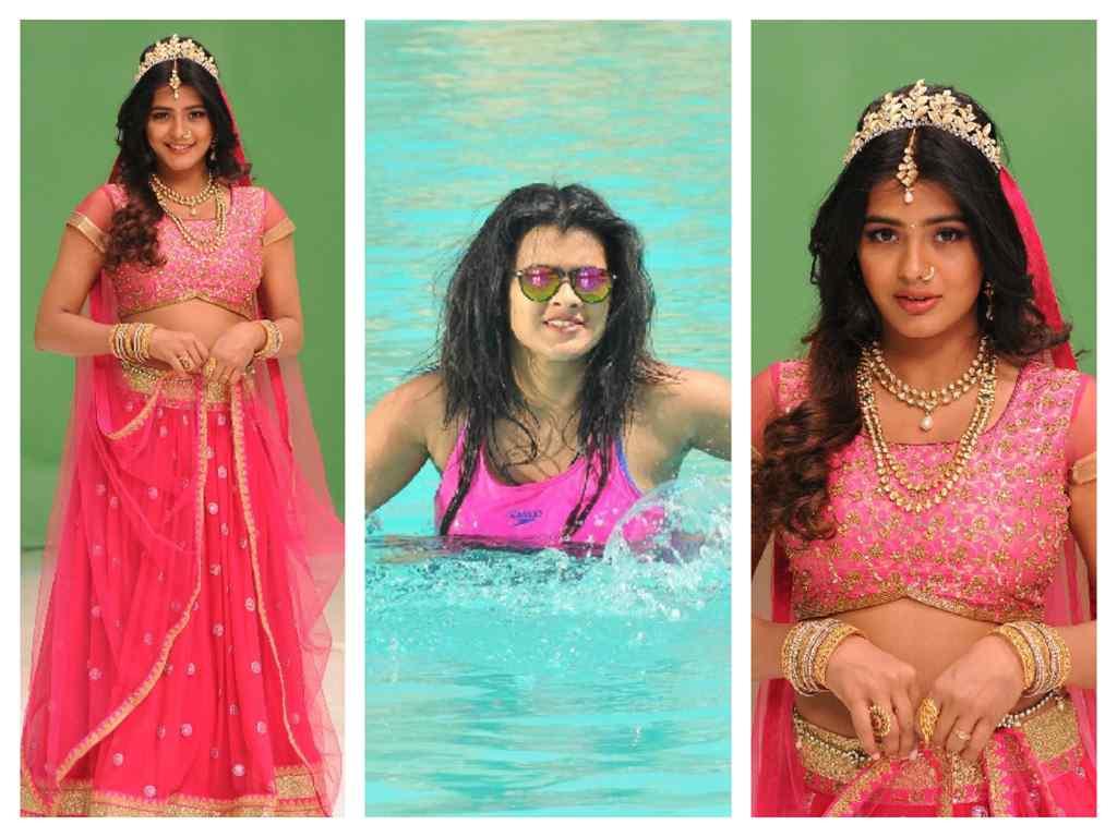 Hebah Patel latest Stills From Angel Telugu Movie