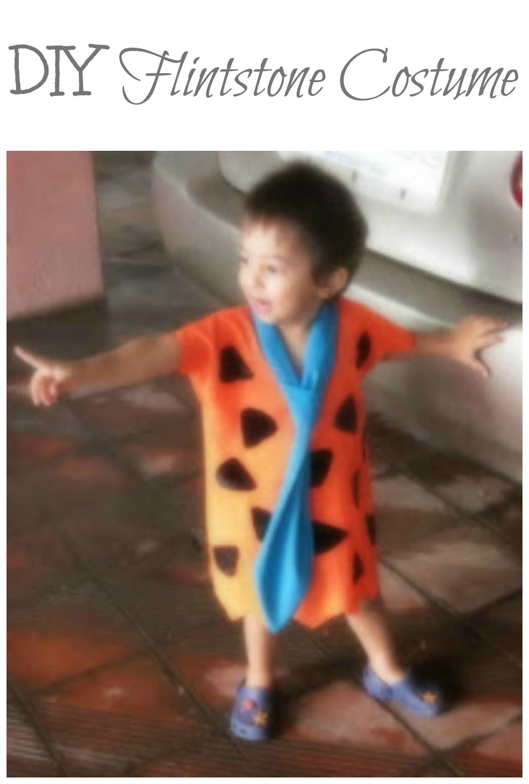 The Practical Mom: DIY Flintstone Costume