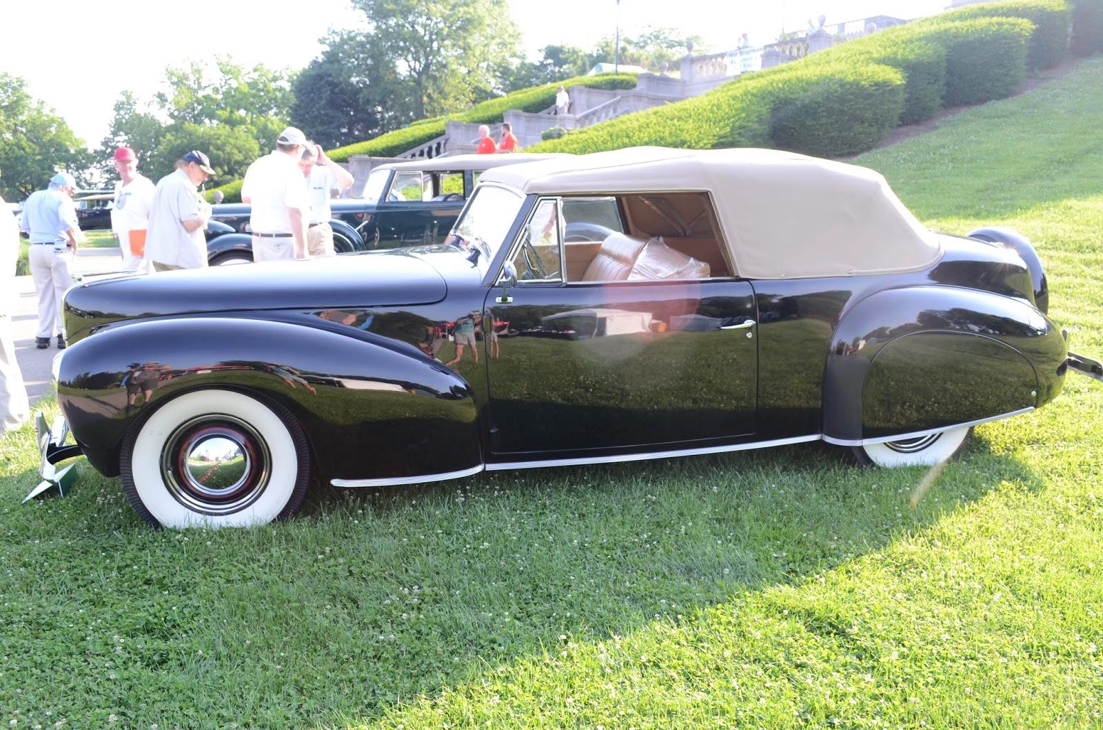 Turnerbudds Car Blog: Pre-War Classics at Ault Park