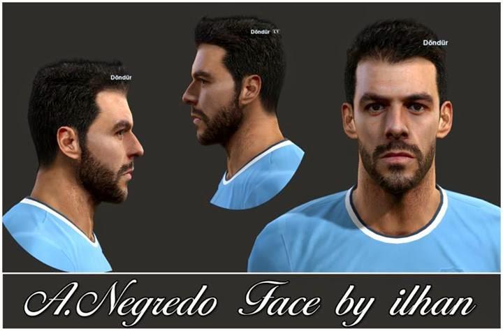 a17ae70e80bf PES 2013 A.Negredo Face by ilhan
