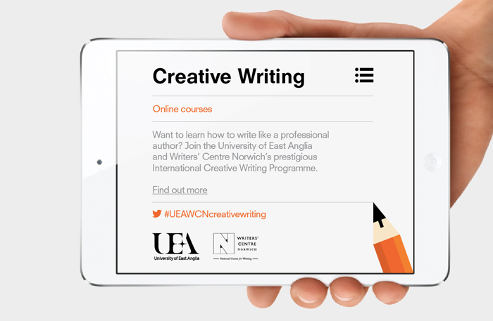 Uea creative writing ma part time