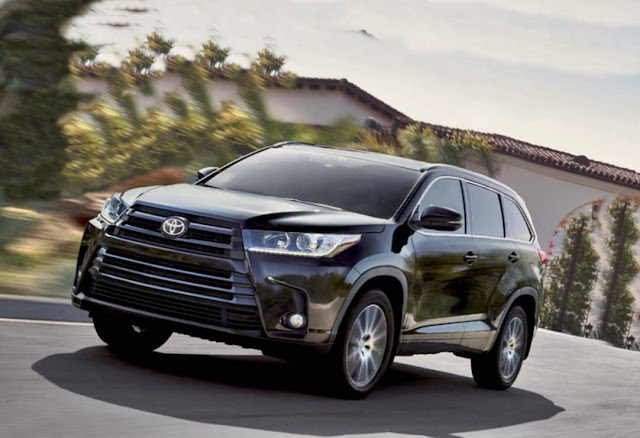 2019 Toyota Highlander Specs, Release Date And Price