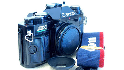 Canon AE-1 Program (Black) Body #089