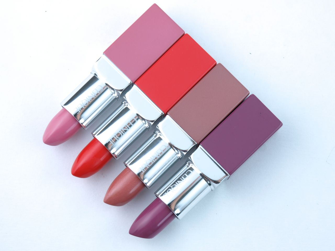 Clinique Pop Lip Color + Primer Lipsticks: Review and Swatches