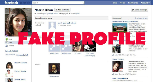 8 Tips to Identify A Fake Facebook Profile - Technology