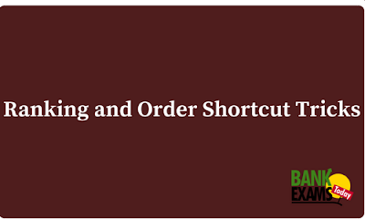 Ranking and Order Shortcut Tricks