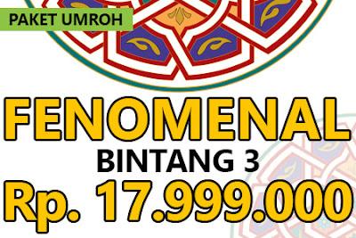 Paket Umroh November Bintang 3
