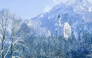 Neuschwanstein in de winter