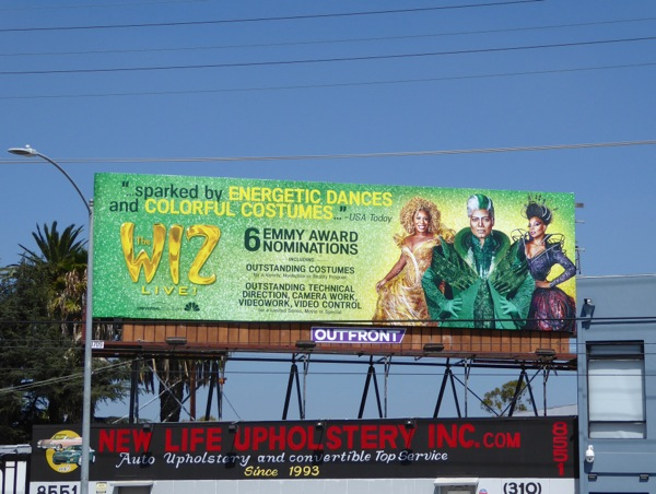 Wiz Live Emmy costume nominations billboard
