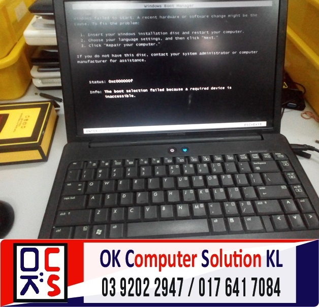 [SOLVED] HP COMPAQ CANNOT REACH WINDOWS | REPAIR LAPTOP CHERAS 1
