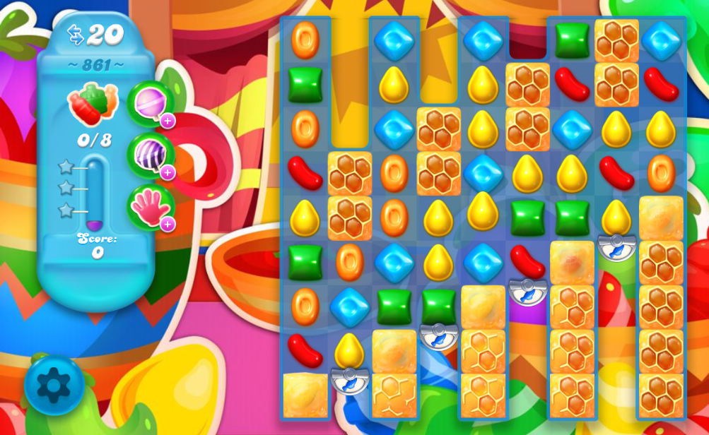 Candy Crush Soda Saga 861