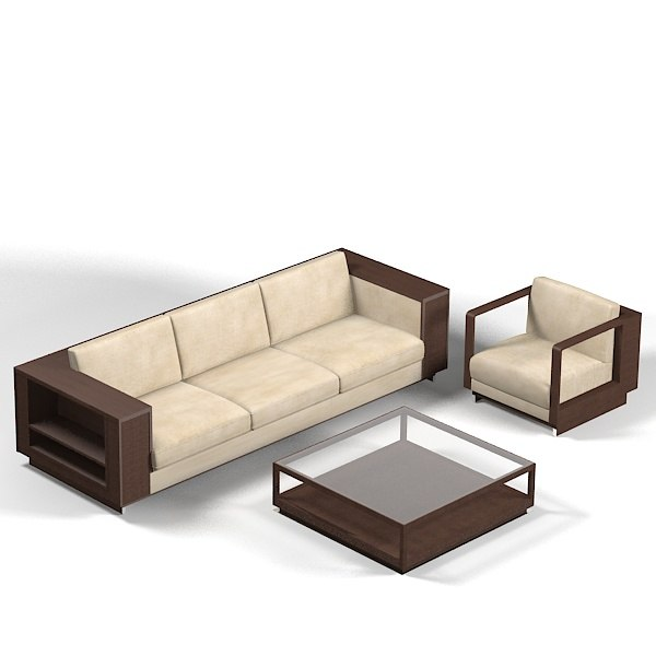 Great Wooden Sofa - Modern Furniture