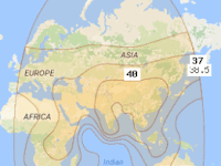 Tutor Lengkap Tracking Satelit Apstar 7 at 76.5°E
