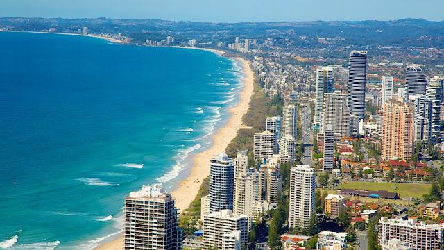 Aluguel de carro em Gold Coast na Austrália