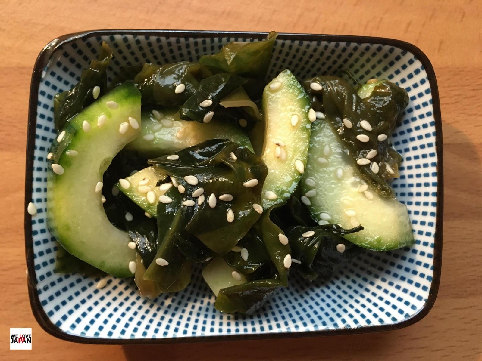 We Love Japan Review Rezept Wakame Gurken Salat