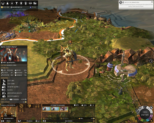 Broken Lords Hero | Endless Legend Screenshot