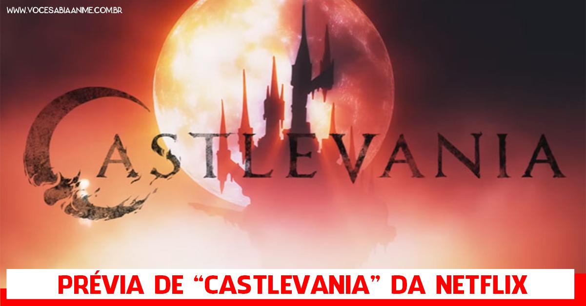Novo Trailer de Castlevania da Netflix