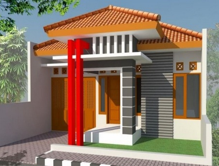 15 Contoh Motif Relief Tiang Teras Rumah Minimalis Modern Yang