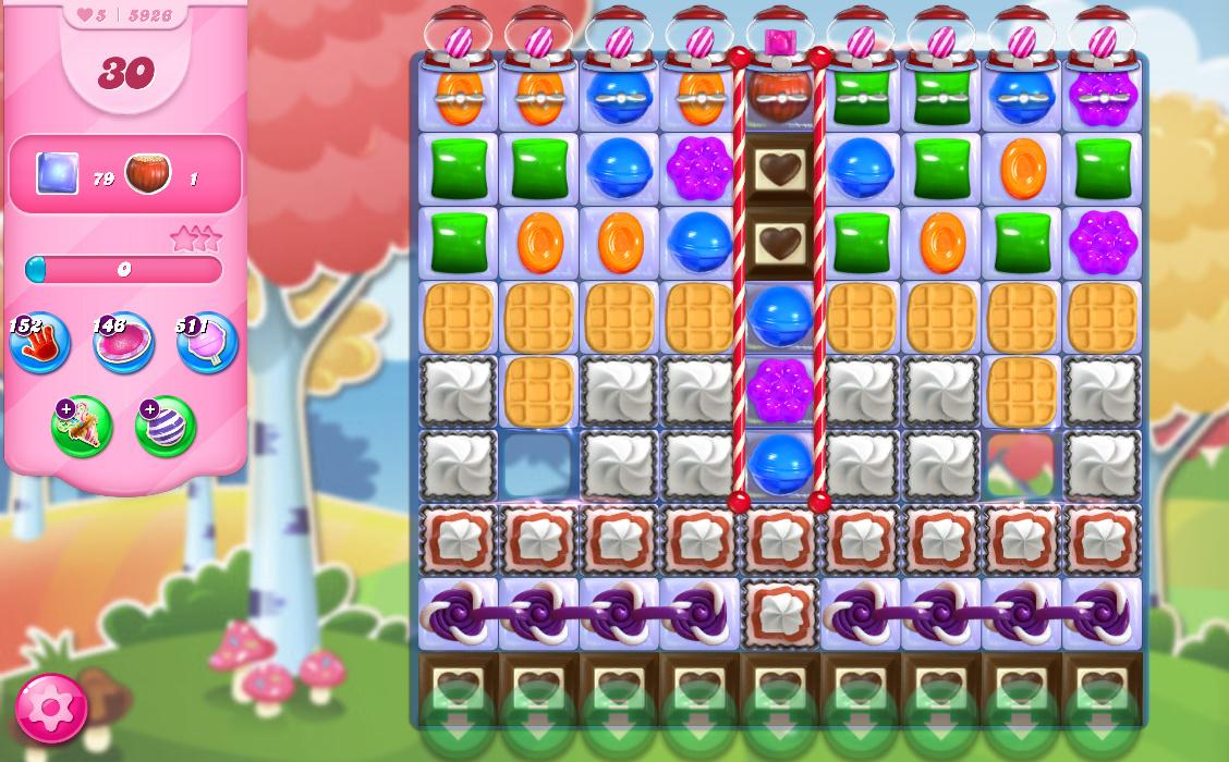 Candy Crush Saga level 5926
