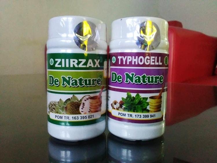 khasiat obat ziirzax typhogell herbal de Nature