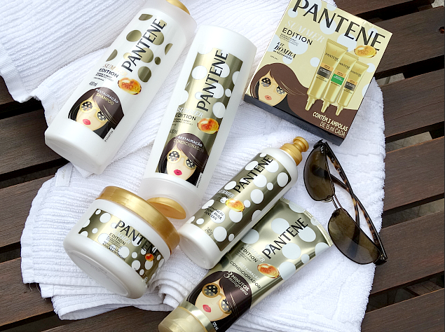 Nova linha Summer Edition Pantene + Evento de lançamento