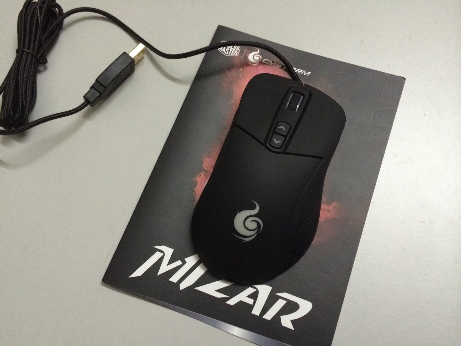 A Sneak Preview On The CM Storm Mizar Laser Gaming Mice 2