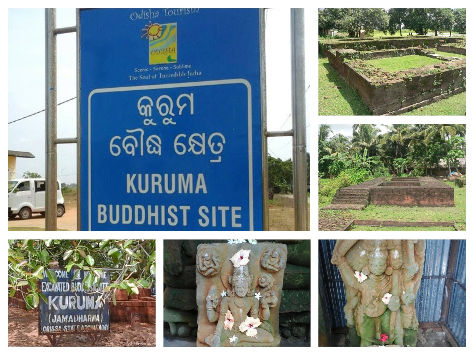 Kuruma – Buddhist Monastery near to Konark