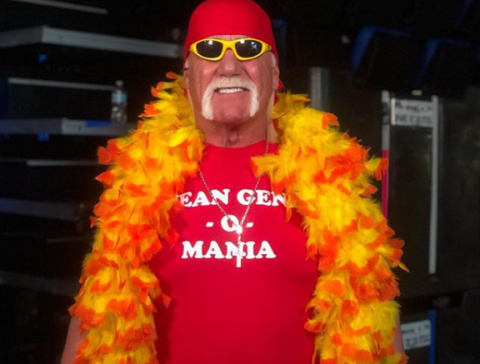 Hulk Hogan Mean Gene t-shirt wwe raw.