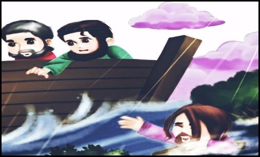 Kisah Nabi Nuh Lengkap Dengan Gambar