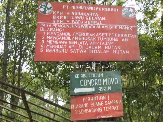 Image result for gambar penunjuk arah wisata giri manik