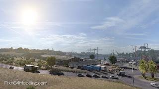 ets 2 realistic graphics mod v2.3.1 screenshots 1