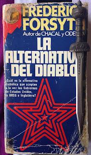 Portada del libro La alternativa del diablo, de Frederick Forsyth