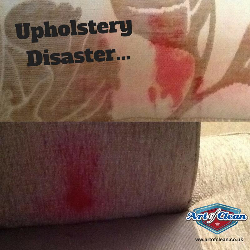 Upholstery Disaster Please Do Not Use The Wrong